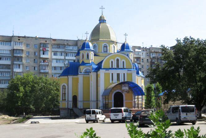 До Хмельницького приїде Філарет, щоб освятити храм