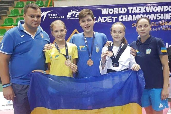 Бронза у чемпіонаті світу з тхеквондо: хмельничанка посіла третє місце