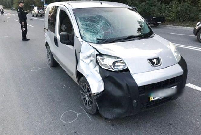 У Кам'янці-Подільському «Peugeot» збив на смерть пенсіонера
