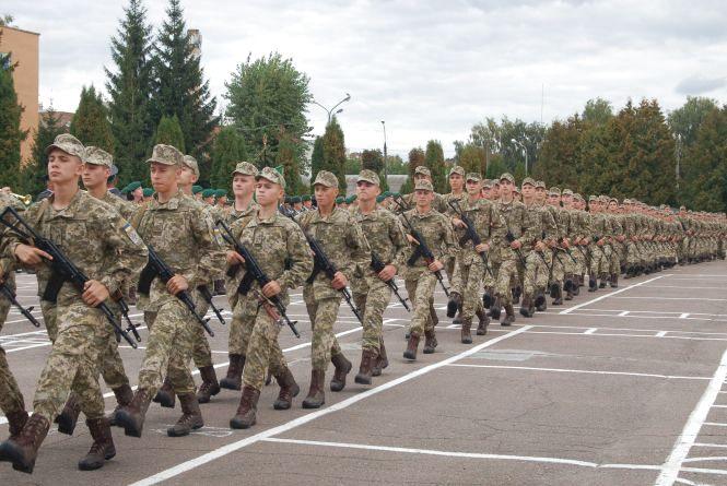 Першокурсники  прикордонної академії склали військову присягу