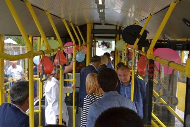 Два дні хмельничани зможуть безкоштовно їздити у тролейбусах