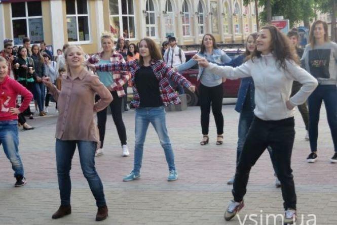 На День міста у парку Шевченка влаштують танцювальний флешмоб