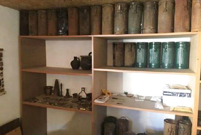 За міні-музей боєприпасів житель Новоушицького району може сісти на 7 років