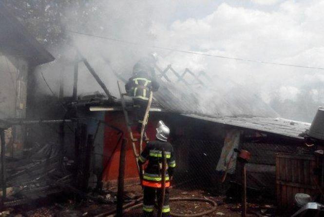 Чоловік згорів під час пожежі у Хмельницькому районі