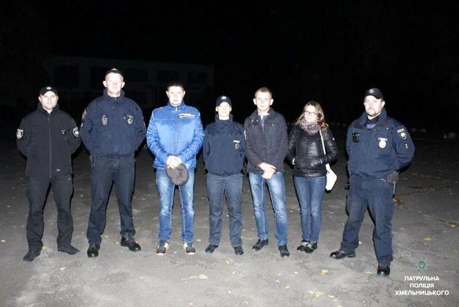 Хмельничани з патрульними влаштували «Сусідську варту»