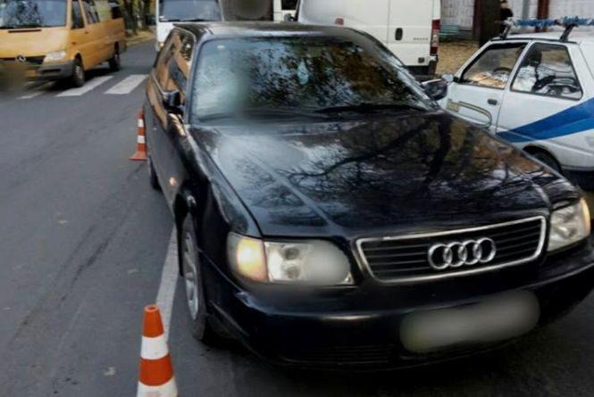 На вулиці Чорновола Audi збив дитину