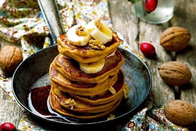 Смачний та оригінальний сніданок: як приготувати гарбузові оладки на вівсяному борошні