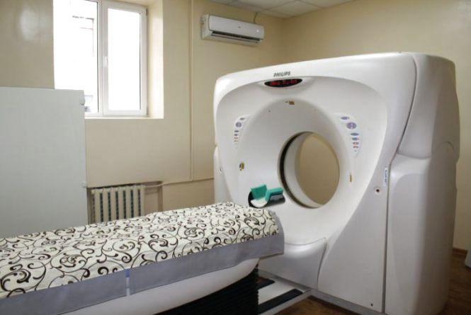 У Волочиську з'явився сучасний кабінет комп'ютерної томографії