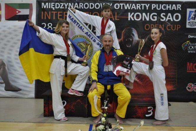 Хмельничани стали призерами на європейських міжнародних змаганнях з бойових мистецтв