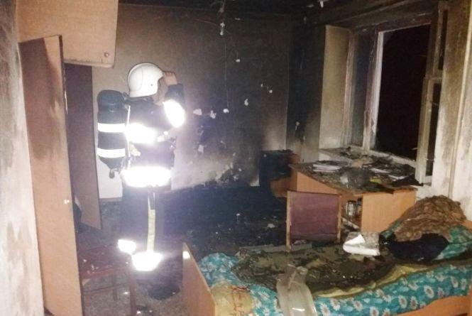 У Кам'янці загорівся гуртожиток. Врятували 150 студентів