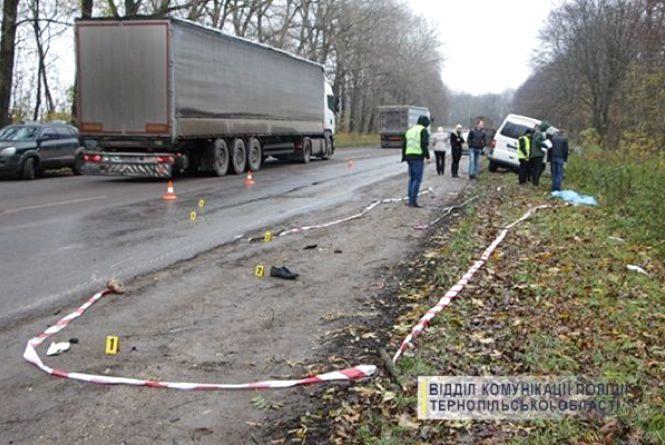 33-річний хмельничанин загинув під колесами автівки на Тернопільщині
