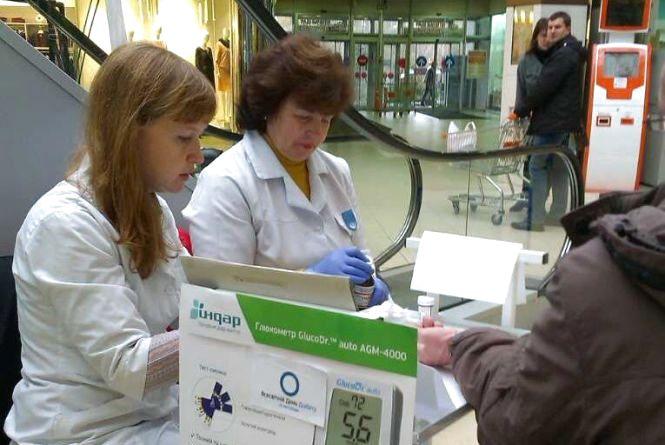 Безкоштовний тест на рівень глюкози в крові хмельничани зможуть пройти 14 листопада