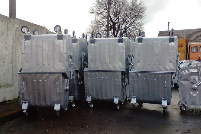 У двох мікрорайонах Хмельницького з'являться нові сміттєві євроконтейнери