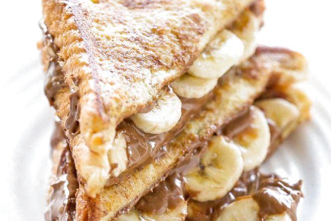 Блаженство на сніданок: як приготувати бананово-шоколадні тости