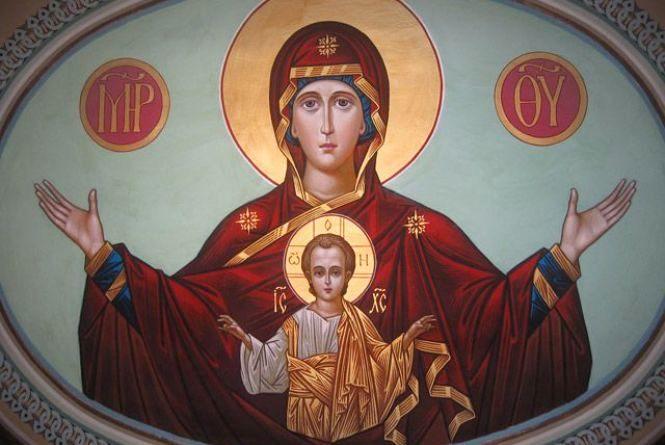 """10 грудня - Ікони Божої Матері """"Знамення"""". Про що моляться у цей день"""