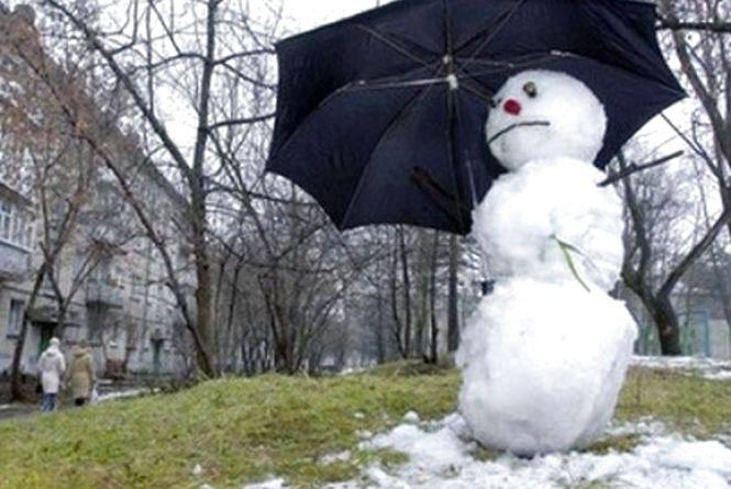 Потужний циклон принесе потепління до Хмельницького. У понеділок, 25 грудня, буде до +8