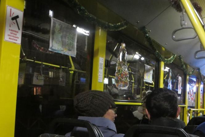 Графік роботи громадського транспорту Хмельницького у новорічну ніч