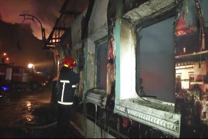 З'явилися подробиці і відео з пожежі в кафе «Марися»