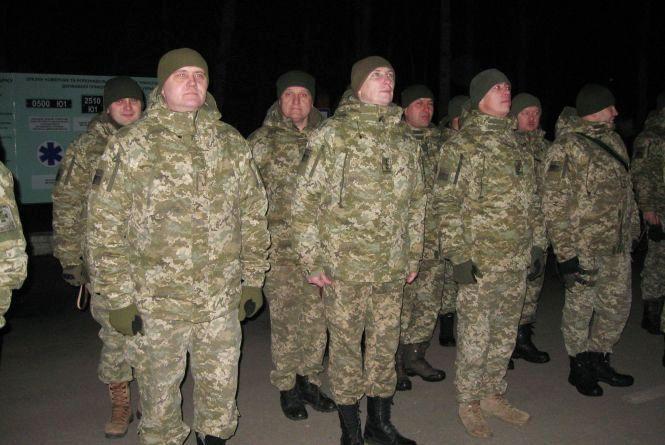40 офіцерів з Хмельницького вирушили на охорону західного кордону країни