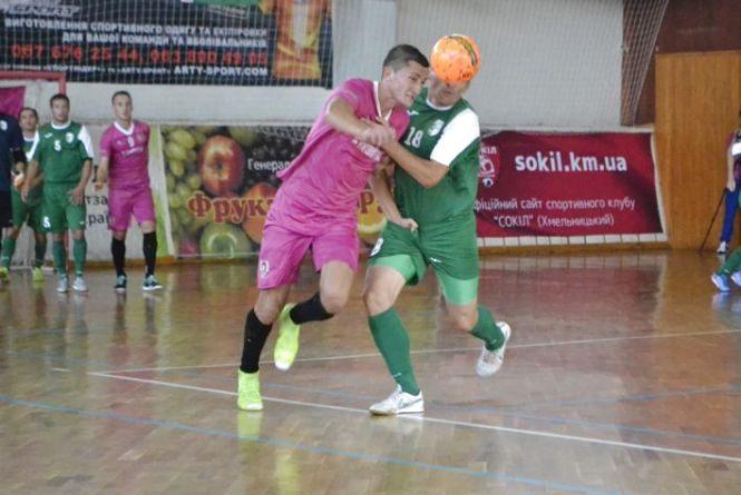 Хмельницький «Сокіл» в напруженому матчі поступився «Енергії»