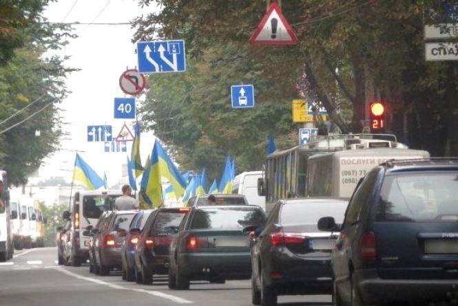 Водії «євроблях» збираються на автопробіг по Хмельницькому
