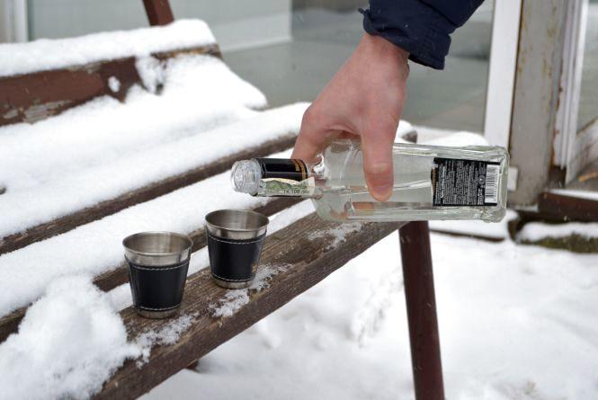 Хмельничани найчастіше п'ють в суботу на Проскурівській