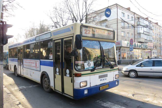 """""""Катіон - Сілістра"""": автобус №22 змінить свій маршрут"""