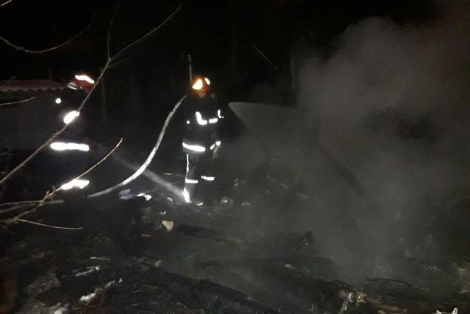 Під ранок на Пилипчука сталася пожежа: горіла господарча будівля