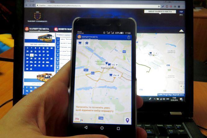 Сервіс стеження за маршрутками Хмельницького запрацював. Поки у тестовому режимі