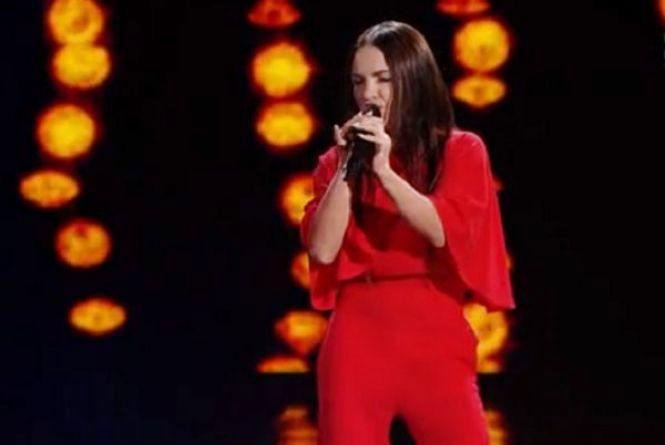 """Не спортом єдиним: Ірина Мерлені заспівала на шоу """"Голос країни"""""""