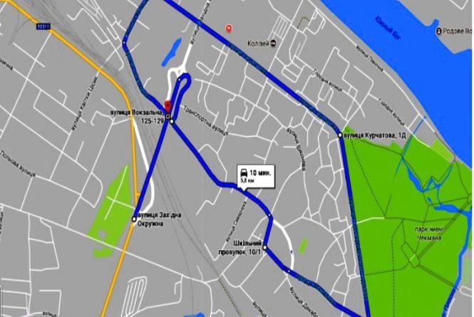 Здаємо на права: карта маршрутів практичних іспитів ПДР у Хмельницькому