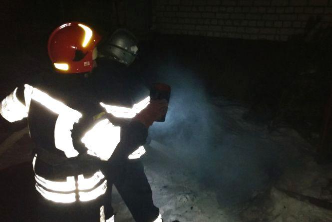 У Шепетівці під час пожежі врятували 56-річного безхатька