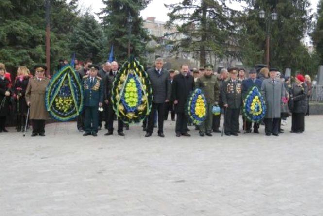 Визволення Проскурова від гітлерівців: хмельничани вшанують героїв