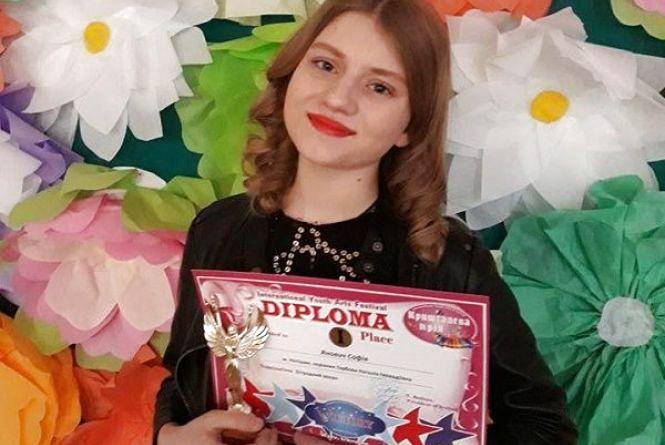 Юна вокалістка з Нетішина стала найкращою на міжнародному пісенному  конкурсі