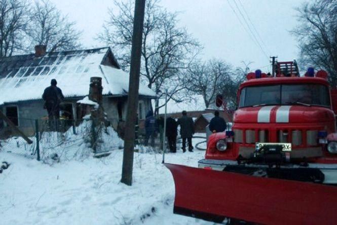 Під час пожежі поблизу Хмельницького  загинув 32-річний чоловік