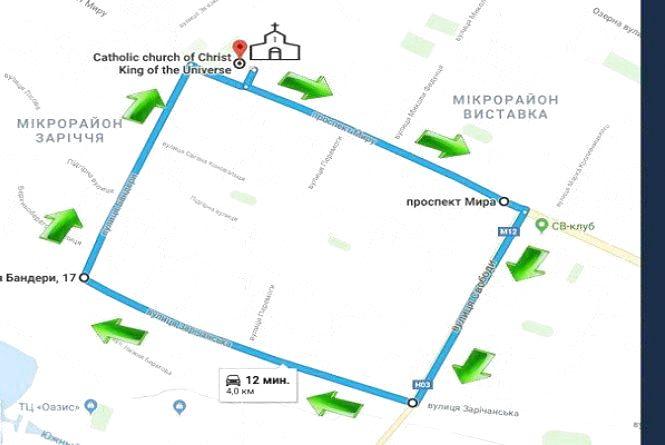 У п'ятницю, 23 березня, на Виставці обмежать рух транспорту