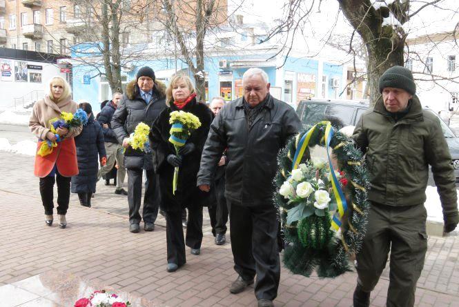 Пам'ять Чорновола вшанували у Хмельницькому