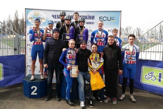 Хмельницькі велосипедисти вибороли 29 медалей на чемпіонаті України