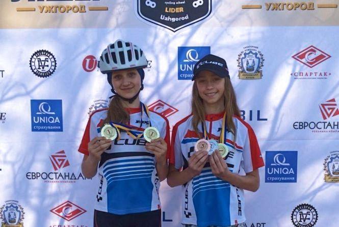 Хмельницькі велосипедисти здобули нагороди на чемпіонаті України