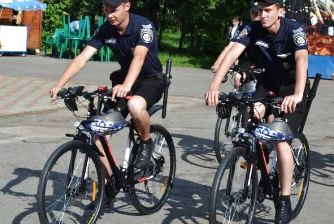 Велопатруль запрацював у парку Чекмана