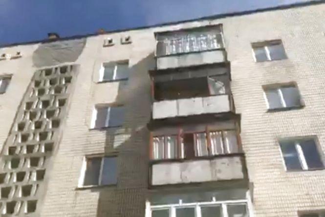 """У багатоповерхівці біля """"Рукавички"""" загорівся балкон"""