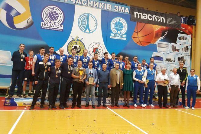Рекордний сезон «Новатор»: хмельничани виграли «золото» і «бронзу»