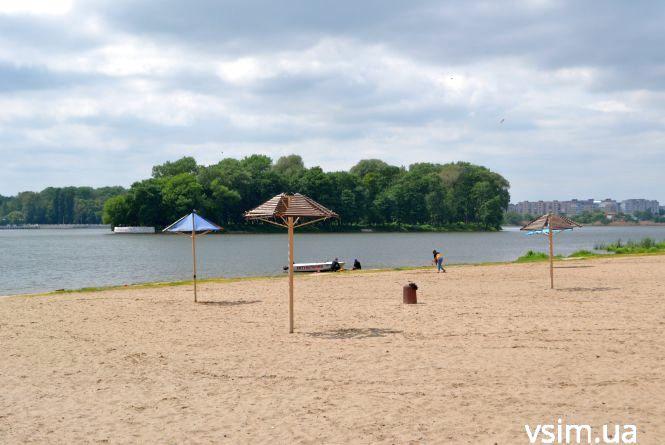 Як готуються до пляжного сезону у Хмельницькому