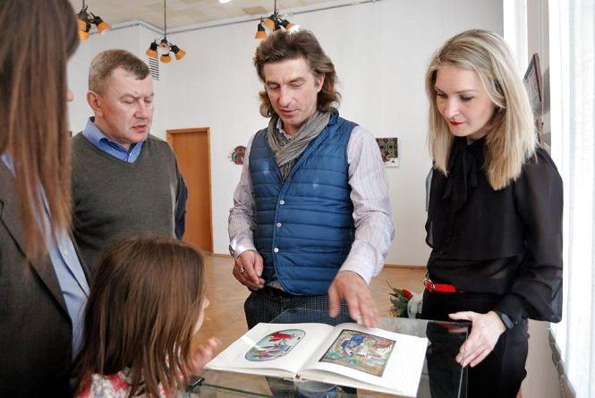 Хмельничан кличуть на зустріч з відомим київським художником Олексієм Ковалем