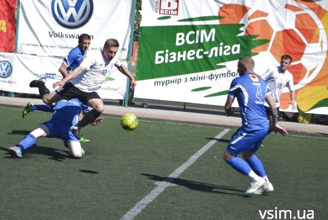 Міні-футбольна ВСІМ Бізнес-ліга: визначилася вісімка кращих команд