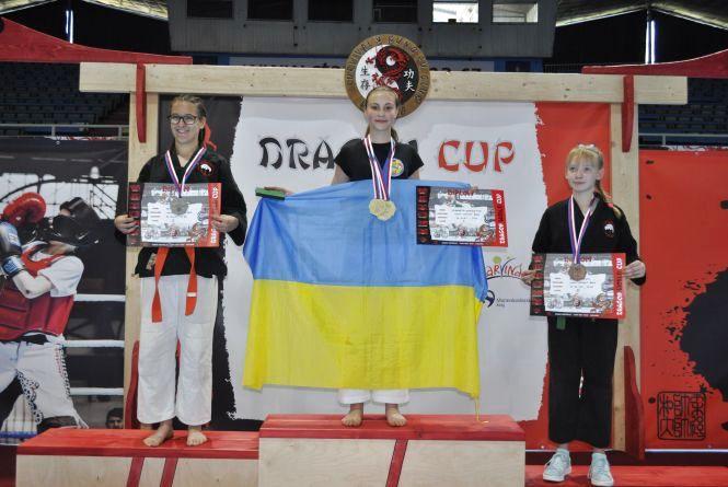 """Хмельничани привезли нагороди із міжнародних змагань """"Dragon Cup 2018"""""""