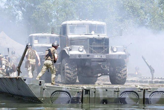 На Дністрі  відбулися масштабні навчання військових