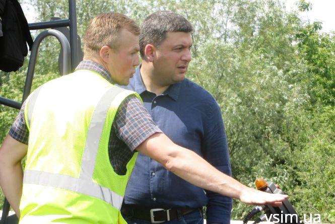 """""""Я дещо занепокоєний"""", - Гройсман про ремонт доріг у Хмельницькій області"""