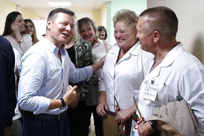 """Точка зору: """"Я зроблю все, щоб ви отримували достойну зарплату"""", - Олег Ляшко відвідав Городок і Чемерівці"""
