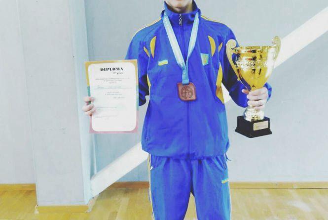Хмельницький спортсмен виграв три нагороди на чемпіонаті Європи